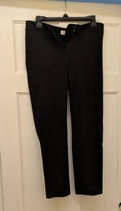 Black straight cut work pants